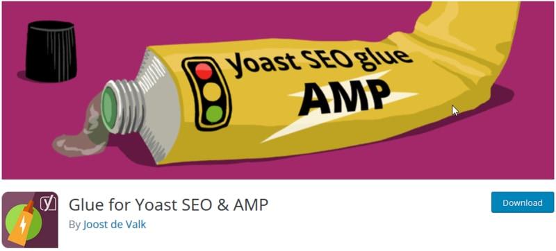 افزونه سئو وردپرس Glue for Yoast SEO & AMP