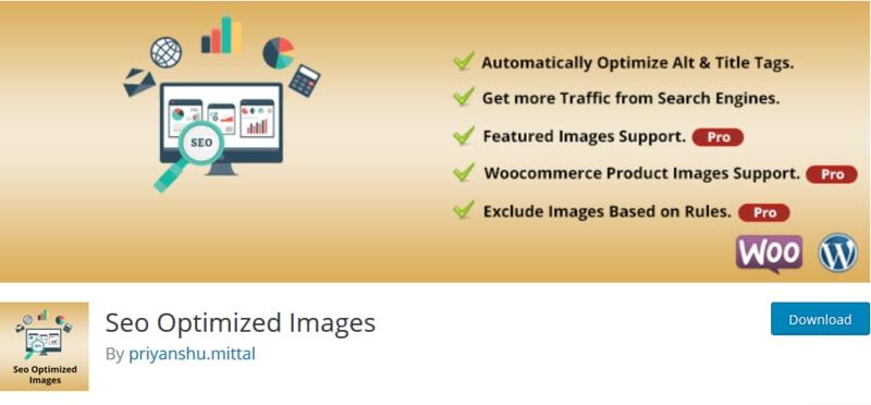 پلاگین سئو وردپرس SEO Optimized Images