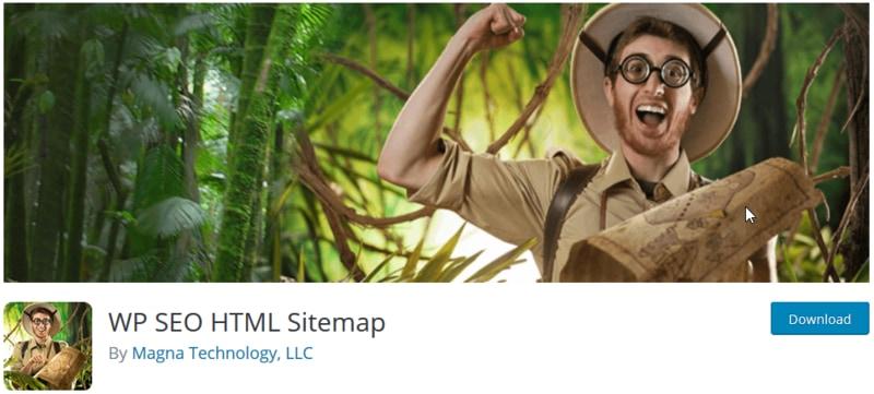 پلاگین نقشه سایت HTML وردپرسی WP SEO HTML Sitemap