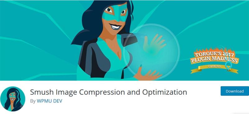 افزونه سئو و بهینه سازی تصاویر Smush Image Compression and Optimization