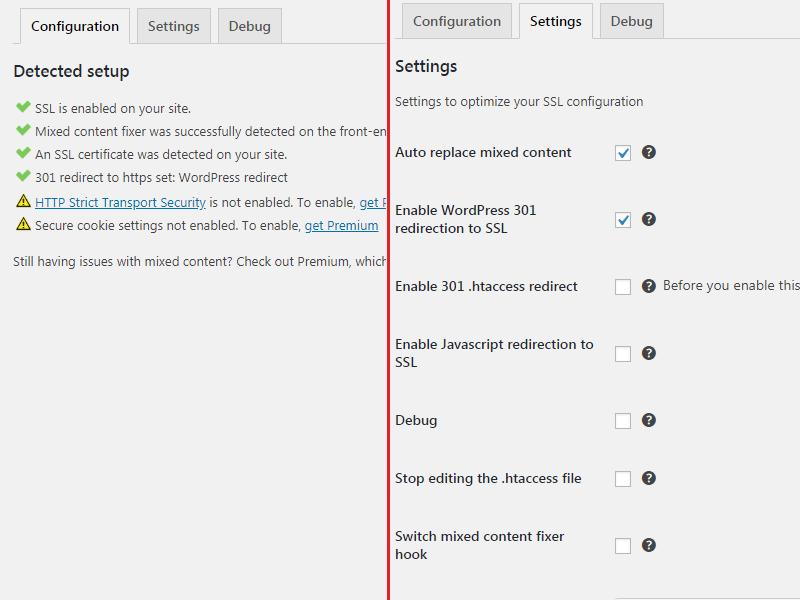افزونه وردپرس Really Simple SSL