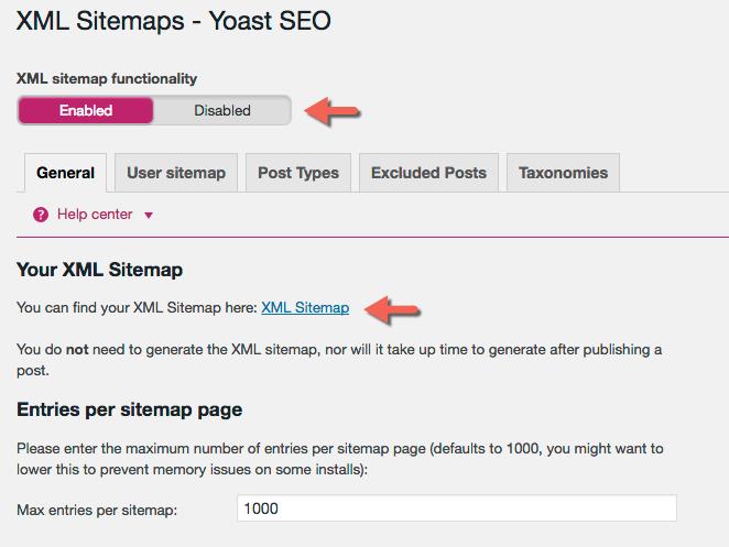 نقشه سایت XML در وردپرس