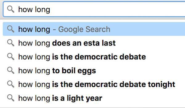 مثال های جستجوی معنایی