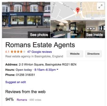 امتیاز کاربران در گوگل