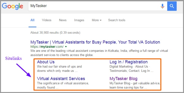 سایت لینک گوگل