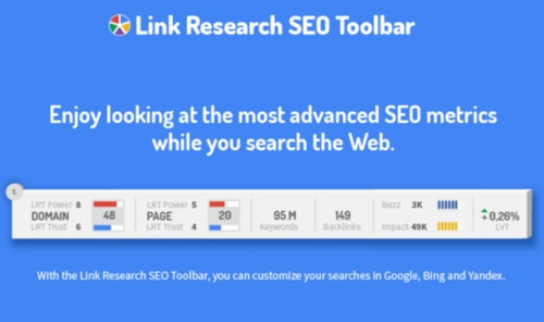 افزونه سئو Link Research Tools