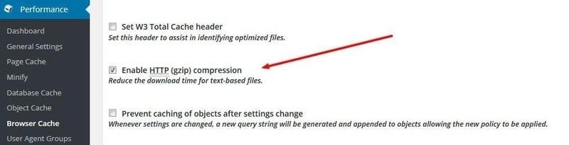 فعال کردن فشرده سازی Gzip برای افزایش سرعت در وردپرس