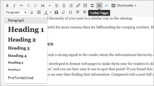 استفاده از هدینگ ها در افزایش بازدهی سئو سایت