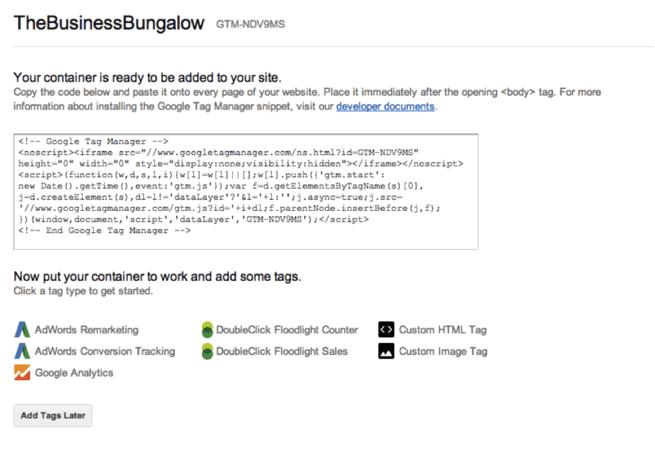 قرار دادن کد در وب سایت
