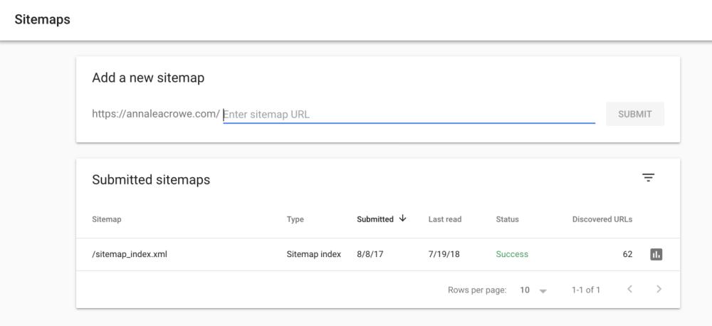 ثبن نقشه سایت در گوگل سرچ کنسول