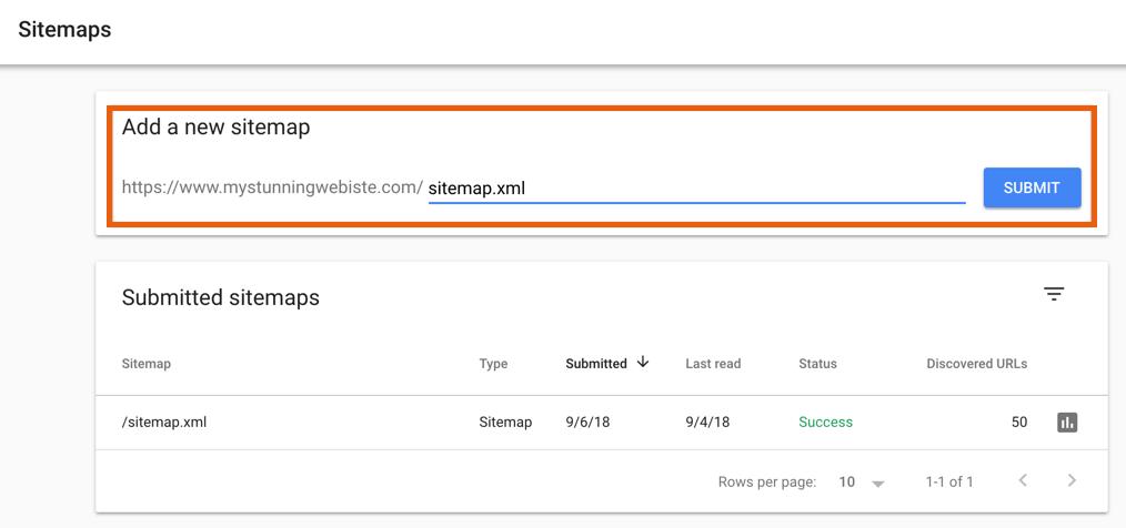 ثبت نقسه سایت در گوگل سرچ کنسول