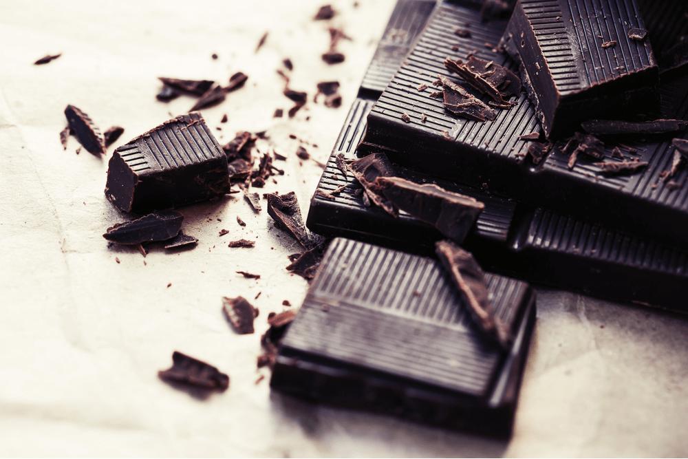 تصویری از شکلات تلخ