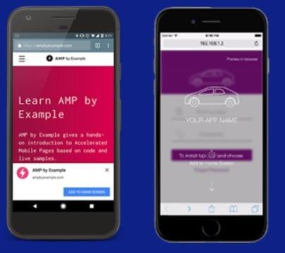 installer PWA on mobile