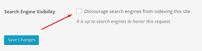 اطمینان از دیده شدن وب سایت توسط موتورهای جستجو در وردپرس